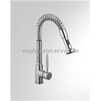Single handle kitchen faucet mixer tap(Pull out style two types of spray 063020)