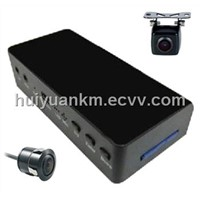 Small  Panorama Monitor with  DVR