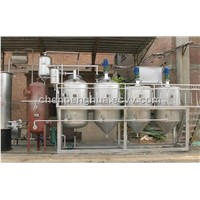 Small scale cooking oil refining equipment