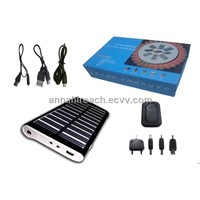 Solar Charger with 1800mAh High Capacity, Suitable for Mobile Phones HR-SC005