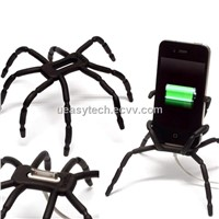 Spider Flexible Grip Holder for Mobile Camera iPhone iPod UEHS03