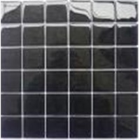 Square Glass Mosaic Black GM1055
