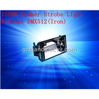 Stage 1500W Dimmer Strobe Light Without DMX512(Iron)