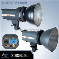 Superstar series digital flash light, with LCD screen