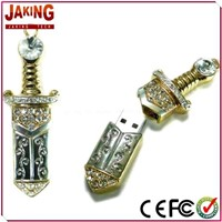 Sword Shape Jewelry USB Flash Drive 2.0