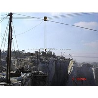 TLLS hoist crane for quarry & river port