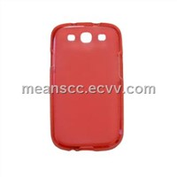 TPU case for Samsung i9300, 100% Eco-friendly TPU