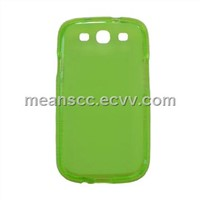 TPU case for Samsung i9300/S3 (green)