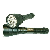 TR-1200 aluminum rechargeable cree led torch light (CE&RoHS)