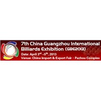 The 7th China Guangzhou International Billiards Exhibition (GBE2013)