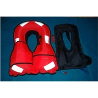 Three piece type lifejacket