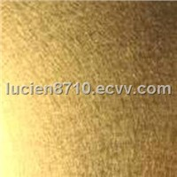Ti-bronze stainless steel sheets