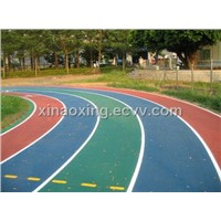 Track and Field, Athletic Rubber Track