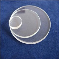 Transparent quartz discs