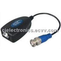 Twisted-Pair Video Transmitter -CJ-UTP600P Passive Video Balun