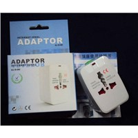 UK US AU EU All in One Internatioal World Travel Adapter Kit, Universal Charger