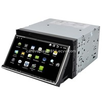 Universal Android2.3 Car dvd GPS audio  surf WIFI/3G internet Digital TV Bluetooth IPOD