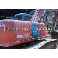 Used Crawler Excavator Hitachi EX200-3 (Made in Japan)80%new