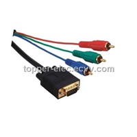 VGA TO Component AV Video Cable