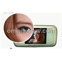 Video door viewer with auto detection and quick view (OM13-P)