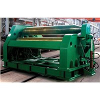 W12 4 roll hydraulic plate bending machine