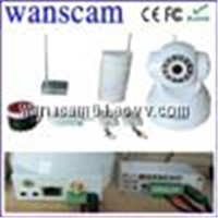 Wanscam Wifi ptz wireless linkage network ir ip alarm system camera