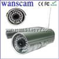 Wasnscam-Waterproof Bullet Small outdoor wireless wired ip camera