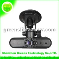 Wholesale - GPS logger,Google Map,Remote Control HD Car DVR(V1000GS)