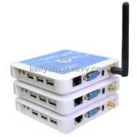 Wi-Fi Thin Client ARM 11 CE 6.0 Plastic PC Station Terminal