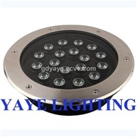 YAYE Hot Sell 1W-36W LED Inground Light-LED Light
