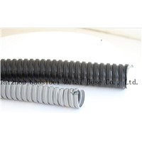 black and white PVC coated metal hose