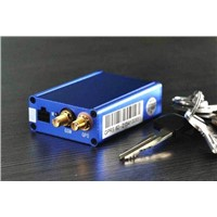 blue GPS vehicle tracker+ two way voice+mini size