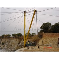 cable crane for the quarry