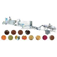 china dry pet food processing machinery line
