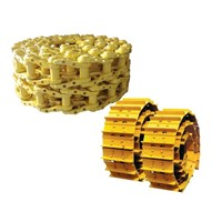 excavator and bulldozer track link /track link chain /track link assembly