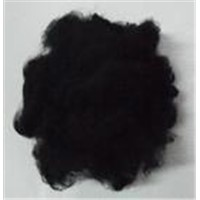 flame retardant black staple fiber