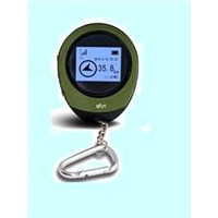 gps tracking device with LCD screen, high sensitivity GPS reciever