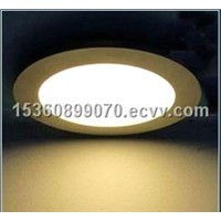 high quality led round panel light