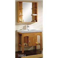 hot sale basin cabinets / oak cabinets from POLI sanitary ware factory