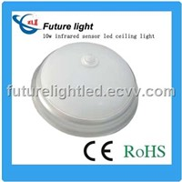 hot selling 10w smd3014 infrared motion sensor led induction lamp