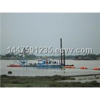 hot-selling cutter suction sand dredger