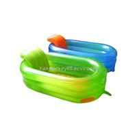 interesting inflatable PVC bath pool for the kids from China