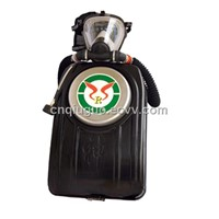isolated compressed oxygen respirator