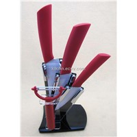 kitchen Horizontal Ceramic Knife peeler and knife holder