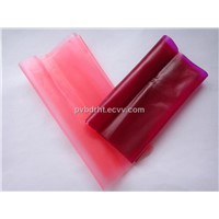 light pink and dark red pvb film tempered and laminated bathroom glass