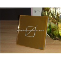 light touch switch Golden color