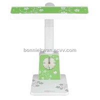 modern energy saving table lamp with clock