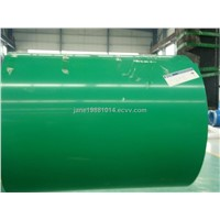 prepainted color coated steel coil/sheet