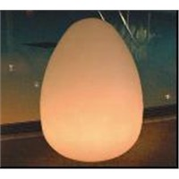 rechargeable egg shape led decorative lamps