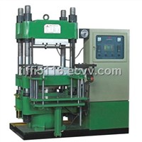 rubber vulcanizing press machine